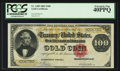 Large Size:Gold Certificates, Fr. 1209 $100 1882 Gold Certificate PCGS Extremely Fine 40PPQ.. ...