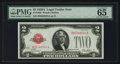 Small Size:Legal Tender Notes, Fr. 1502 $2 1928A Legal Tender Note. PMG Gem Uncirculated 65 EPQ.. ...