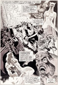 Original Comic Art:Splash Pages, Pablo Marcos Savage Sword of Conan #9 Splash Page 14Original Art (Marvel, 1975)....