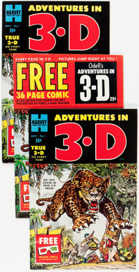 Harvey 3-D Comics File Copies Group (Harvey, 1953).... (Total: 20 Comic Books)