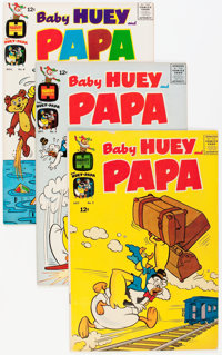 Baby Huey and Papa #2-33 File Copies Group (Harvey, 1962-68) Condition: Average NM-.... (Total: 32 Comic Books)
