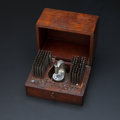 Timepieces:Other , K&D Special Patent 1902 Watchmakers Staking Set With Wood Box. ...