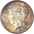 Peace Dollars, 1925-S $1 MS65 NGC. CAC....