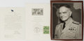 Autographs:Military Figures, Group of Three William F. Halsey Items... (Total: 3 Items)