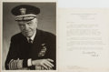 Autographs:Military Figures, Group of Two William D. Leahy Items... (Total: 2 Items)