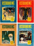 Pulps:Science Fiction, Astounding Stories Group (Street & Smith, 1942-43) Condition:Average FN.... (Total: 16 Items)