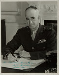 Autographs:Military Figures, Omar N. Bradley Inscribed Photograph Signed....