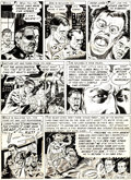 "Original Comic Art:Covers, Joe Orlando Weird Science #14 ""They Shall Inherit"" Page 7Original Art (EC, 1952)...."