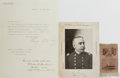 Autographs:Military Figures, Group of Three Rear Admiral George Dewey Items... (Total: 3 Items)