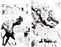 Original Comic Art:Panel Pages, Lee Garbett and Alejandro Sicat Amazing Spider-Man #660 Pages 5 and 6 Original Art (Marvel, 2011).... (Total: 2 Original Art)
