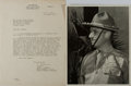 Autographs:Military Figures, Group of Frank D. Merrill... (Total: 2 Items)