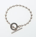 Luxury Accessories:Accessories, Gucci Sterling Silver Ball Chain Bracelet with Toggle Closure. ...