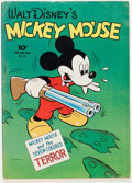 Golden Age (1938-1955):Cartoon Character, Four Color #27 Mickey Mouse (Dell, 1943) Condition: VG+....
