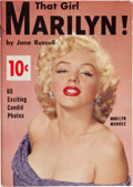 Movie/TV Memorabilia:Documents, A 'That Girl Marilyn!' (Monroe) Rare Magazine, Circa 1954....