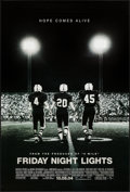 "Movie Posters:Sports, Friday Night Lights (Universal, 2004). One Sheets (2) (27"" X 40"") DS Advance October 2004 & 10.08.04 Styles. Sports.. ... (Total: 2 Items)"