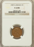 Lincoln Cents: , 1909-S 1C Fine 12 NGC. NGC Census: (166/1304). PCGS Population(229/2165). Mintage: 1,825,000. Numismedia Wsl. Price for pr...