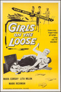 "Movie Posters:Bad Girl, Girls on the Loose (Universal International, 1958). InternationalOne Sheet (27"" X 41""). Bad Girl.. ..."
