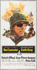 "Movie Posters:War, Castle Keep (Columbia, 1969). Three Sheet (41"" X 76""). War.. ..."