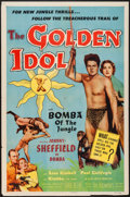 "Movie Posters:Adventure, The Golden Idol (Allied Artists, 1954). One Sheet (27"" X 41"").Adventure.. ..."