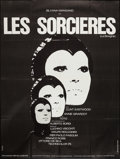 """Movie Posters:Drama, The Witches (United Artists, 1967). French Grande (45"""" X 60""""). Drama.. ..."""