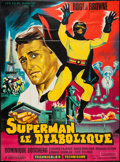 "Movie Posters:Science Fiction, Argoman the Fantastic Superman (Les Films Marbeuf, 1967). FrenchGrande (45"" X 61.5""). Science Fiction.. ..."