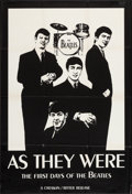 "Movie Posters:Rock and Roll, The Beatles, As They Were (Creswin/Ritter, 1979). Canadian Poster(29.25"" X 43.5""). Rock and Roll.. ..."
