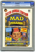 Magazines:Mad, Mad Follies #6 (EC, 1968) CGC NM 9.4 Off-white to white pages....
