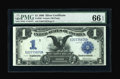Large Size:Silver Certificates, Fr. 229 $1 1899 Silver Certificate PMG Gem Uncirculated 66 EPQ....
