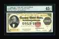 Large Size:Gold Certificates, Fr. 1215 $100 1922 Gold Certificate PMG Extremely Fine 45 EPQ....