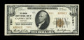 National Bank Notes:Kentucky, Cannel City, KY - $10 1929 Ty. 2 The Morgan County NB Ch. # 7891....
