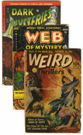 Golden Age (1938-1955):Horror, Miscellaneous Golden Age Horror Group (Various Publishers,1952-54).... (Total: 3 Comic Books)