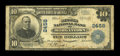 National Bank Notes:West Virginia, Morgantown, WV - $10 1902 Plain Back Fr. 633 The Second NB Ch. #2458. ...