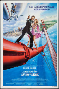 "A View to a Kill (United Artists, 1985). One Sheet (27"" X 41"") Style A. James Bond"