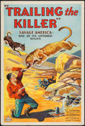 "Movie Posters:Adventure, Trailing the Killer (World Wide, 1932). One Sheet (27"" X 41""). FlatFolded. Adventure.. ..."