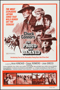 "Movie Posters:Adventure, Chuck Connors in The Proud and the Damned & Others Lot(Interfilm, 1972). One Sheets (8) (27"" X 41""). Adventure.. ...(Total: 8 Items)"