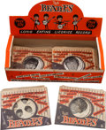 Music Memorabilia:Memorabilia, Beatles Licorice Box of Record Candies (Five) (UK, Circa 1963).... (Total: 6 Items)