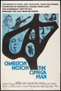 "Movie Posters:Science Fiction, The Omega Man (Warner Brothers, 1971). Poster (40"" X 60""). ScienceFiction.. ..."