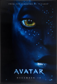 "Avatar (20th Century Fox, 2009). Lenticular One Sheet (27"" X 40"") Advance. Science Fiction"