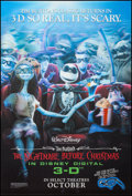 "Movie Posters:Animation, The Nightmare Before Christmas (Walt Disney Pictures, R-2006).Lenticular One Sheet (27"" X 40"") 3-D Advance. Animation.. ..."