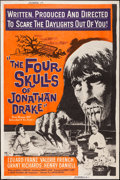 "Movie Posters:Horror, The Four Skulls of Jonathan Drake (United Artists, 1959). Poster (40"" X 60""). Horror.. ..."