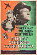 "Movie Posters:War, Thirty Seconds Over Tokyo (MGM, R-1955). Silk Screen Poster (40"" X60""). War.. ..."