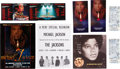 Music Memorabilia:Autographs and Signed Items, Michael Jackson Signed Concert Program with Tickets and Memorabiliafrom the Historic Michael Jackson's 30th Anniversary... (Total:10 Items)