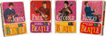 Music Memorabilia:Memorabilia, Beatles Complete Set of Revell Model Kits (1964). ... (Total: 4 Items)