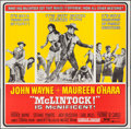 "Movie Posters:Western, McLintock! (United Artists, 1963). Six Sheet (79"" X 79""). Western.. ..."