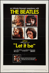 "Let It Be (United Artists, 1970). One Sheet (27"" X 41""). Rock and Roll"