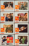 "Movie Posters:War, A Farewell to Arms (20th Century Fox, 1958). Lobby Card Set of 8(11"" X 14""). War.. ... (Total: 8 Items)"