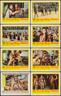 "Movie Posters:Adventure, The Last Days of Pompeii (United Artists, 1960). Lobby Card Set of8 (11"" X 14""). Adventure.. ... (Total: 8 Items)"