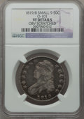 Bust Half Dollars, 1819/8 50C Small 9 -- Obverse Scratched -- NGC Details. VF. O-101.NGC Census: (10/290). PCGS Population (10/206). Numism...