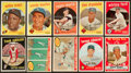 Baseball Cards:Lots, 1959 Topps Baseball Collection (173) With Mays, Koufax and HighNumbers. ...