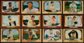 Baseball Cards:Lots, 1955 Bowman Baseball Collection (149) With Mays and Aaron. ...